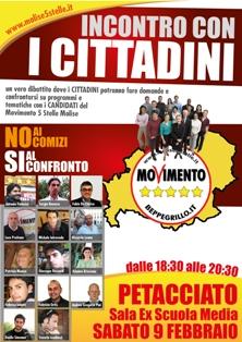 Manifesto Confronto con cittadini
